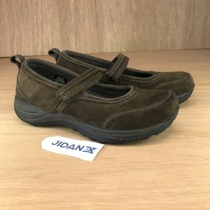 LL Bean Suede Strap Comfort